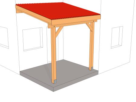 plans de carports et abris voiture guide de construction. Black Bedroom Furniture Sets. Home Design Ideas